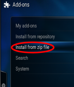 install-from-zip
